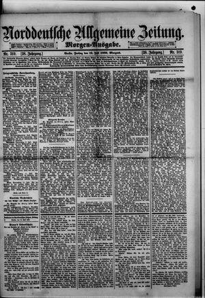 Norddeutsche allgemeine Zeitung on Jul 12, 1889