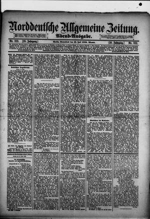 Norddeutsche allgemeine Zeitung vom 13.07.1889