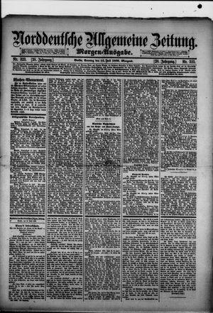 Norddeutsche allgemeine Zeitung vom 14.07.1889