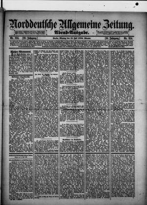 Norddeutsche allgemeine Zeitung vom 15.07.1889