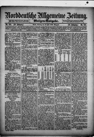 Norddeutsche allgemeine Zeitung on Jul 16, 1889