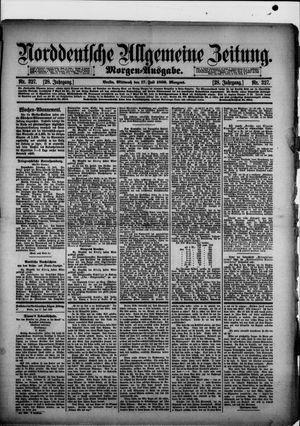 Norddeutsche allgemeine Zeitung vom 17.07.1889