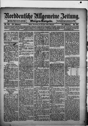 Norddeutsche allgemeine Zeitung vom 18.07.1889