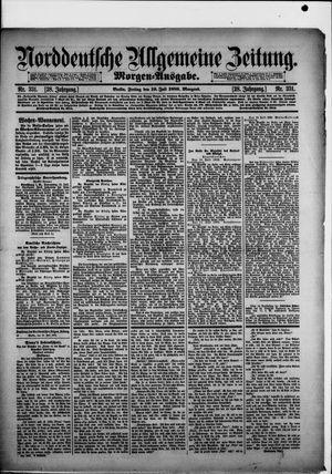 Norddeutsche allgemeine Zeitung on Jul 19, 1889