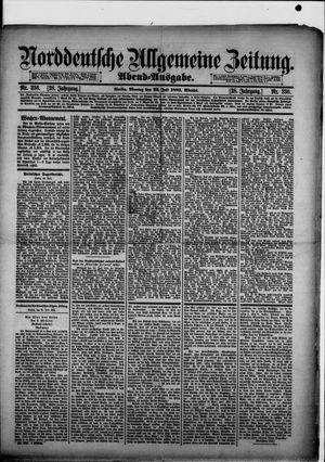 Norddeutsche allgemeine Zeitung vom 22.07.1889