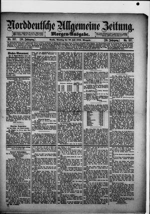Norddeutsche allgemeine Zeitung vom 23.07.1889