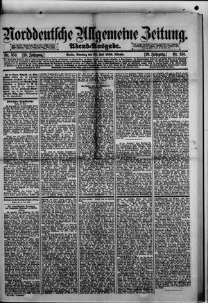 Norddeutsche allgemeine Zeitung vom 30.07.1889