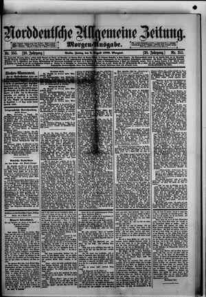 Norddeutsche allgemeine Zeitung vom 02.08.1889