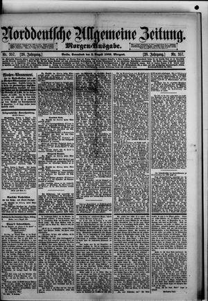 Norddeutsche allgemeine Zeitung vom 03.08.1889