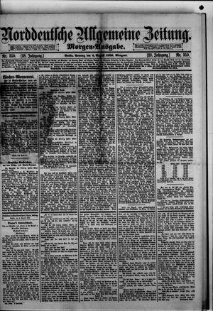 Norddeutsche allgemeine Zeitung vom 04.08.1889