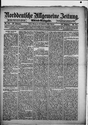 Norddeutsche allgemeine Zeitung (23.09.1889)