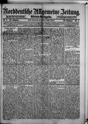 Norddeutsche allgemeine Zeitung vom 02.01.1890