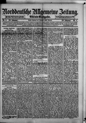 Norddeutsche allgemeine Zeitung vom 03.01.1890
