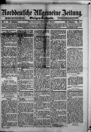 Norddeutsche allgemeine Zeitung vom 05.01.1890