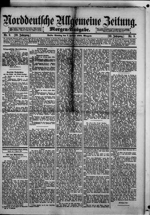 Norddeutsche allgemeine Zeitung vom 07.01.1890