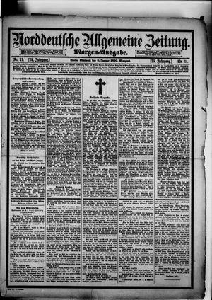 Norddeutsche allgemeine Zeitung vom 08.01.1890