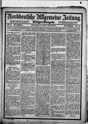 Norddeutsche allgemeine Zeitung vom 10.01.1890