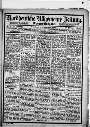 Norddeutsche allgemeine Zeitung vom 12.01.1890