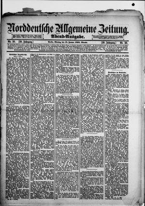 Norddeutsche allgemeine Zeitung vom 13.01.1890