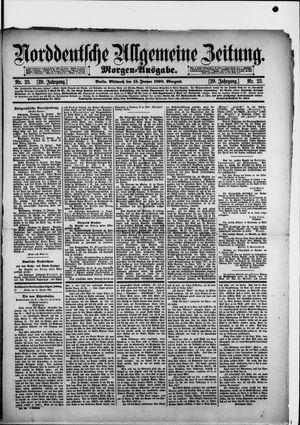 Norddeutsche allgemeine Zeitung vom 15.01.1890