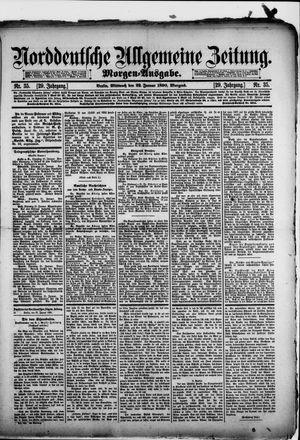 Norddeutsche allgemeine Zeitung vom 22.01.1890
