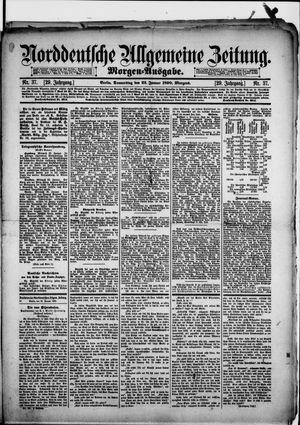 Norddeutsche allgemeine Zeitung vom 23.01.1890