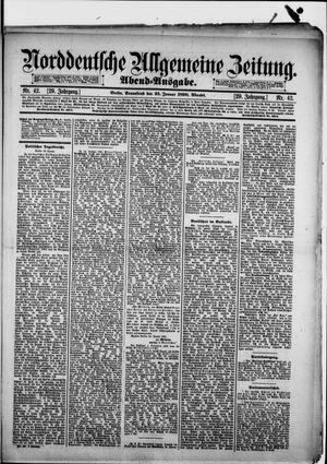 Norddeutsche allgemeine Zeitung vom 25.01.1890