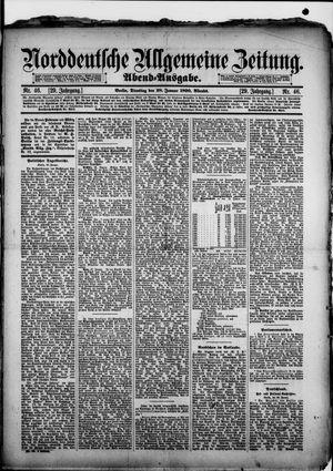 Norddeutsche allgemeine Zeitung vom 28.01.1890