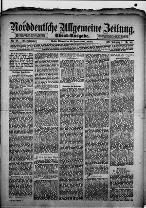 Norddeutsche allgemeine Zeitung vom 29.01.1890