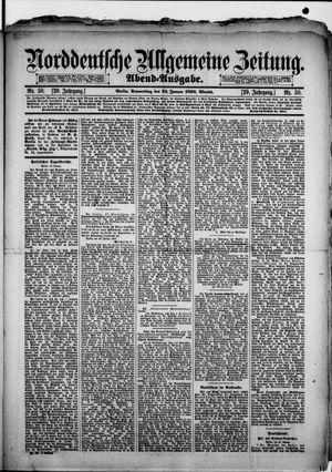Norddeutsche allgemeine Zeitung vom 30.01.1890