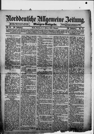 Norddeutsche allgemeine Zeitung vom 02.02.1890