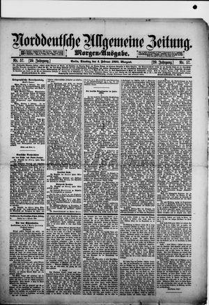 Norddeutsche allgemeine Zeitung vom 04.02.1890