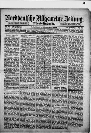 Norddeutsche allgemeine Zeitung vom 05.02.1890