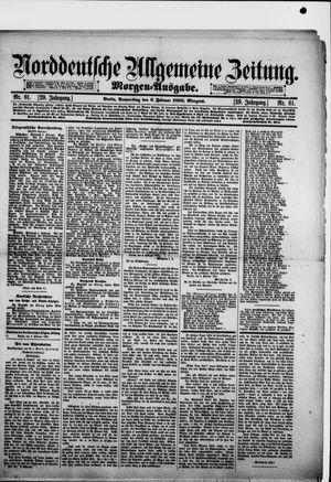 Norddeutsche allgemeine Zeitung vom 06.02.1890