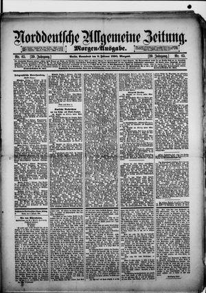 Norddeutsche allgemeine Zeitung vom 08.02.1890