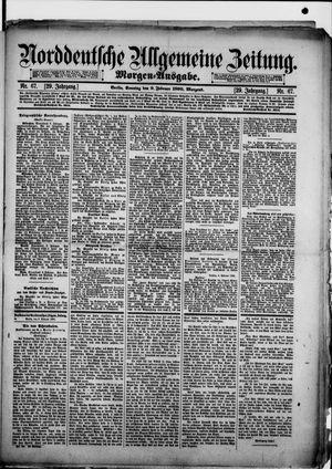 Norddeutsche allgemeine Zeitung vom 09.02.1890