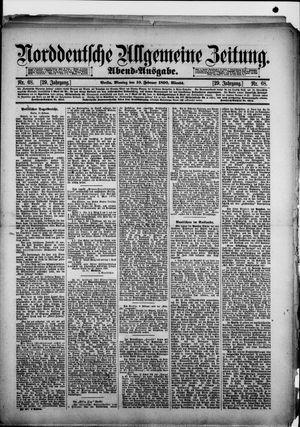Norddeutsche allgemeine Zeitung vom 10.02.1890