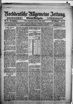 Norddeutsche allgemeine Zeitung vom 11.02.1890