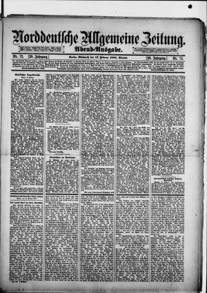 Norddeutsche allgemeine Zeitung vom 12.02.1890