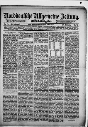 Norddeutsche allgemeine Zeitung vom 13.02.1890