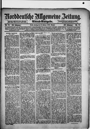 Norddeutsche allgemeine Zeitung vom 14.02.1890