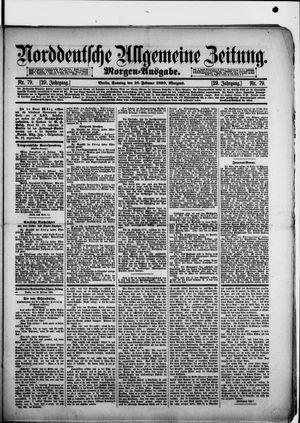 Norddeutsche allgemeine Zeitung vom 16.02.1890