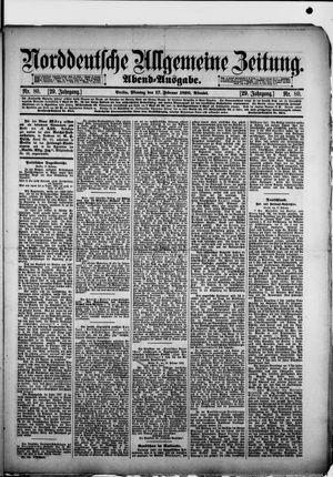 Norddeutsche allgemeine Zeitung vom 17.02.1890