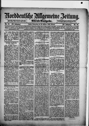 Norddeutsche allgemeine Zeitung vom 20.02.1890