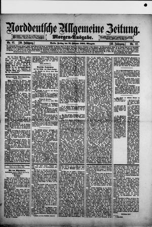 Norddeutsche allgemeine Zeitung vom 21.02.1890