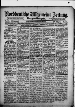 Norddeutsche allgemeine Zeitung vom 02.03.1890