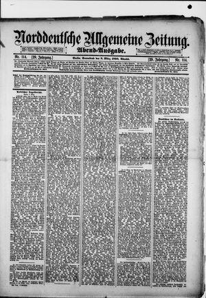 Norddeutsche allgemeine Zeitung vom 08.03.1890