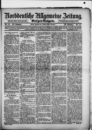 Norddeutsche allgemeine Zeitung vom 09.03.1890