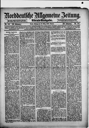 Norddeutsche allgemeine Zeitung vom 10.03.1890