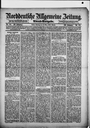Norddeutsche allgemeine Zeitung vom 11.03.1890